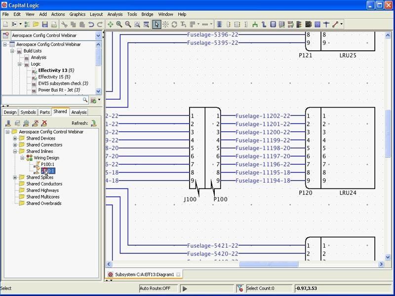 Improved Configuration Management in Aero Electrical Design