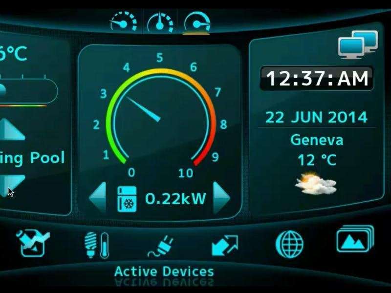 Smart Energy In-Home Display Demo Running on Nucleus RTOS