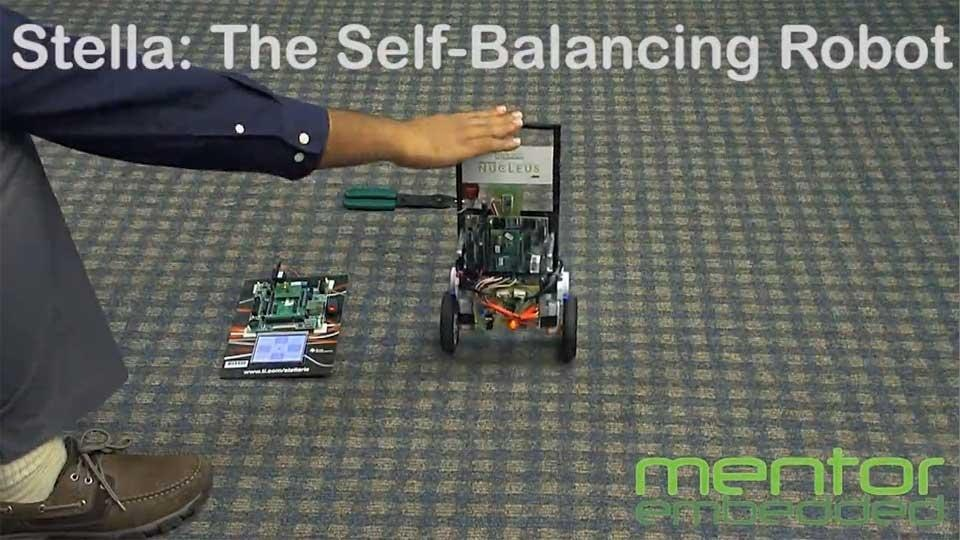 Stella Self-Balancing Robot Powered by Nucleus Real Time Operating System