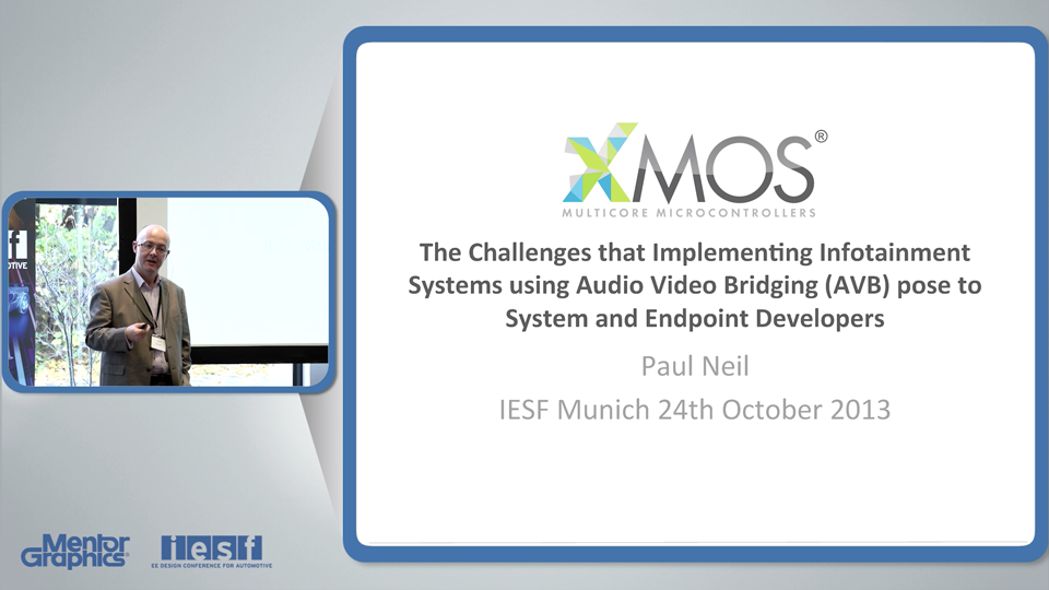 The Challenges that Implementing Infotainment Systems using Audio Video Bridging (AVB) pose to System and Endpoint Developers