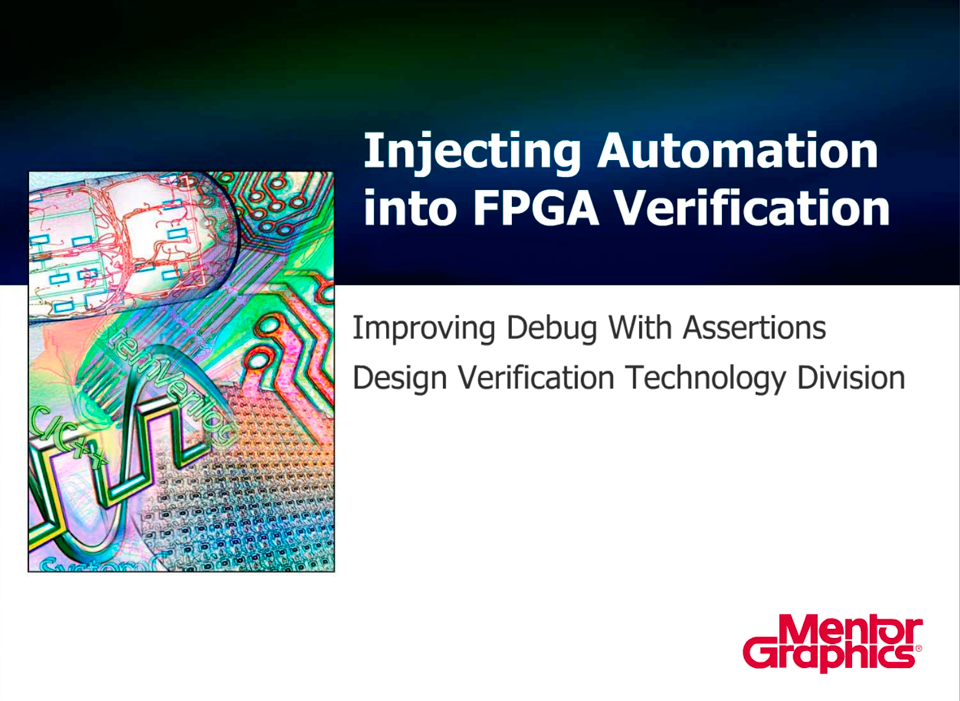 Injecting Automation into Verification - Assertions