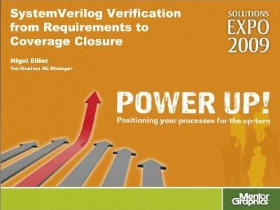 Questa: SystemVerilog Verification from Requirements to Coverage Closure