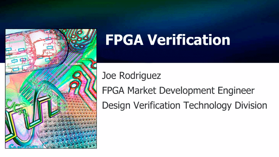 Injecting Automation into Verification - FPGA Market Trends