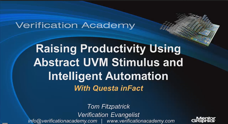 Raising Productivity Using Abstract UVM Stimulus and Intelligent Automation