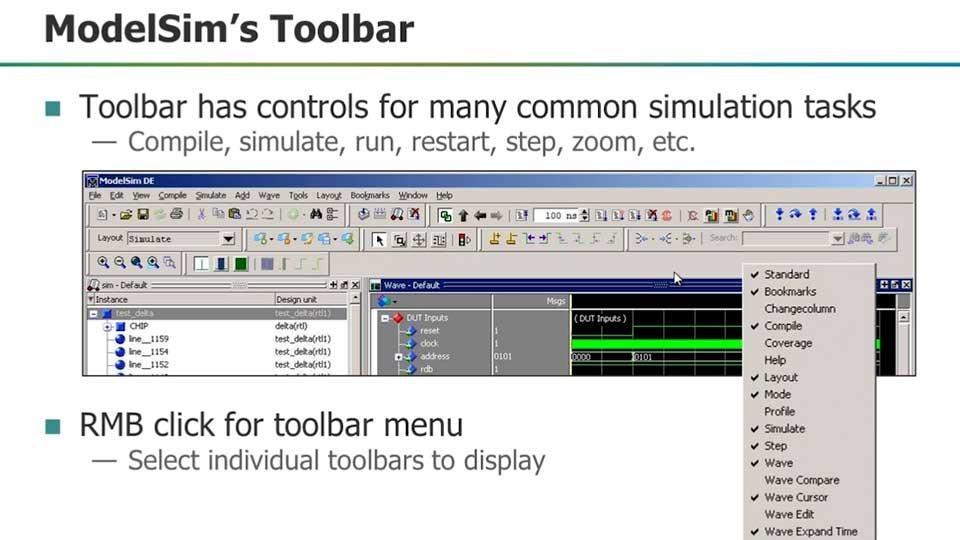 ModelSim GUI Essentials Webinar