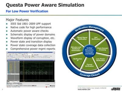 Active Power Management Verification with Power Aware Simulation