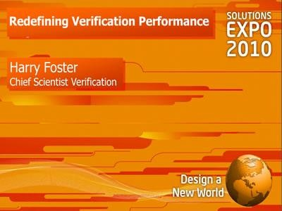 Re-defining Verification Performance