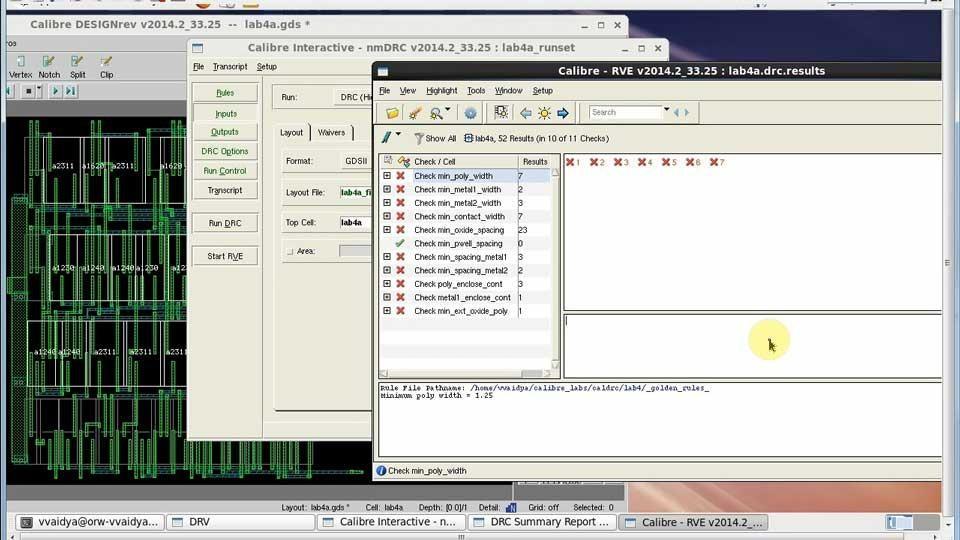 How to use Calibre Interactive Recipe GUI to select/deselect checks