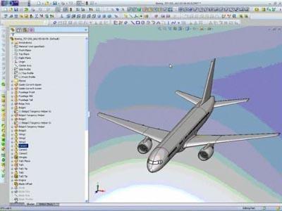 Boeing 757 Air Flow Analysis using FloEFD
