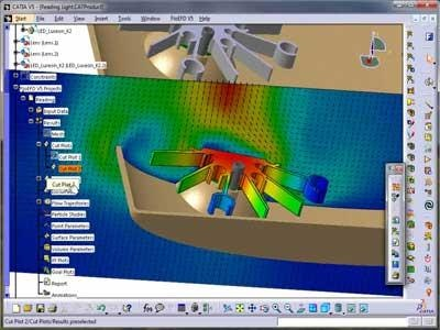 Accelerate Your Automotive LED Designs with MCAD Embedded CFD