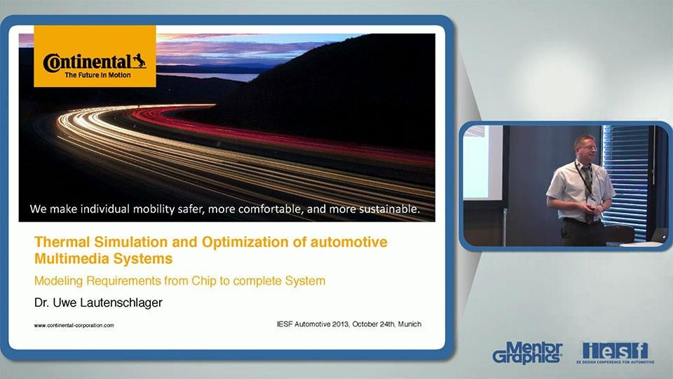 Thermal Simulation and Optimization of automotive Multimedia Systems – Modeling Requirements from Chip to complete System