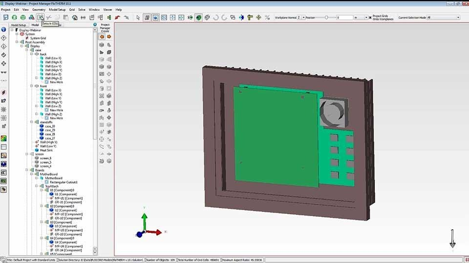 FloTHERM v10.1 New Features Presentation