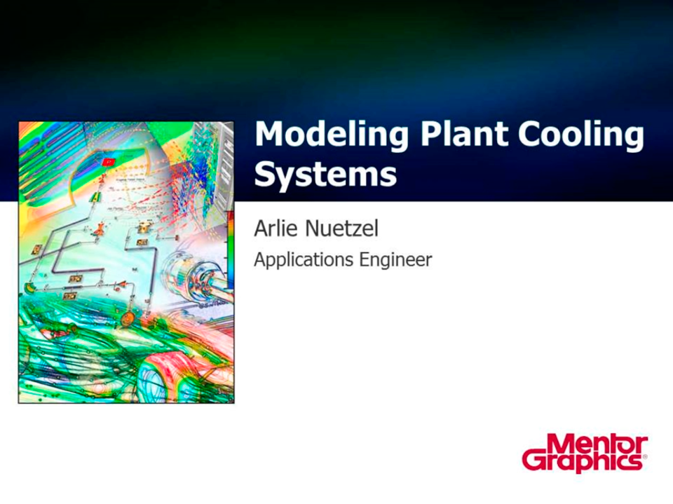 Modeling Plant Cooling Systems