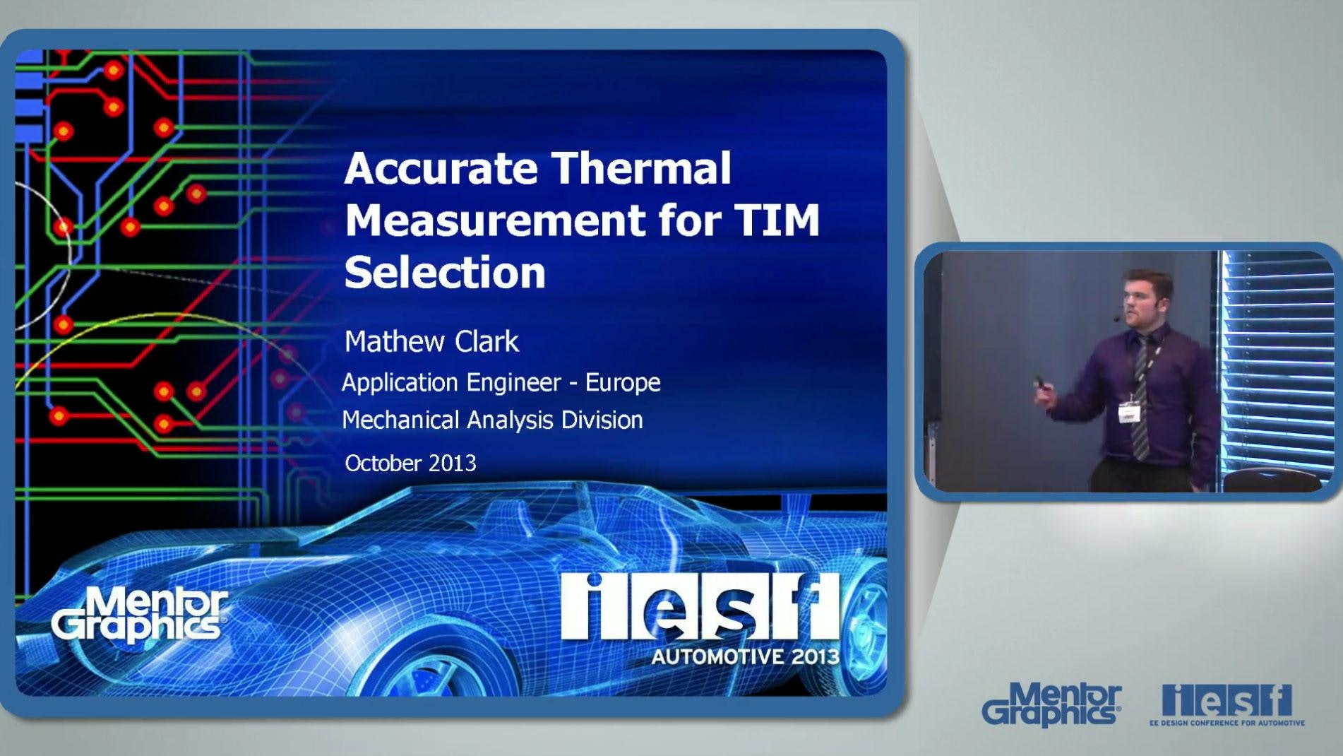 Selecting the right Thermal Interface Material (TIM) for electronics packages based on accurate thermal measurement data