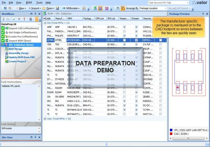 Data Preparation for SMT and PCB Assembly Demo