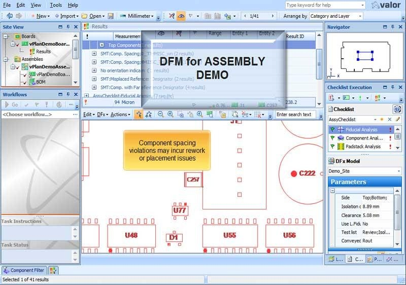 DFM for PCB Assembly Demo
