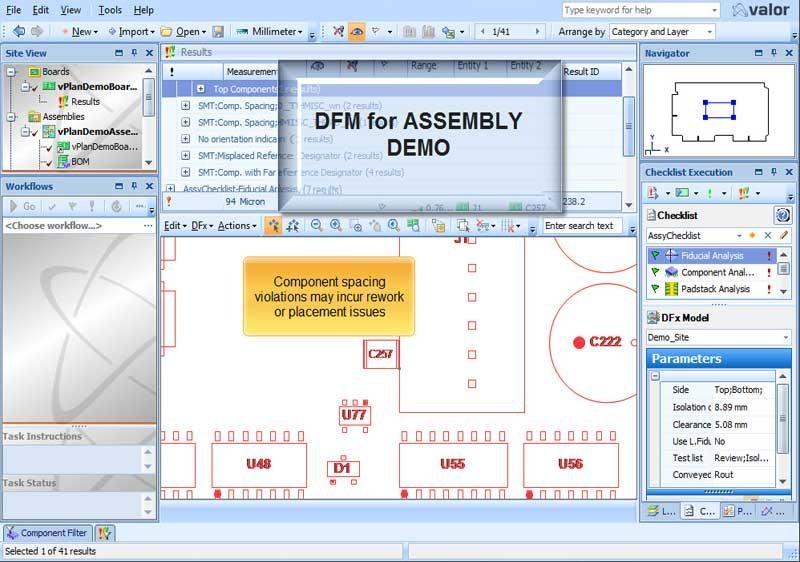 DFM for PCB Assembly Demo