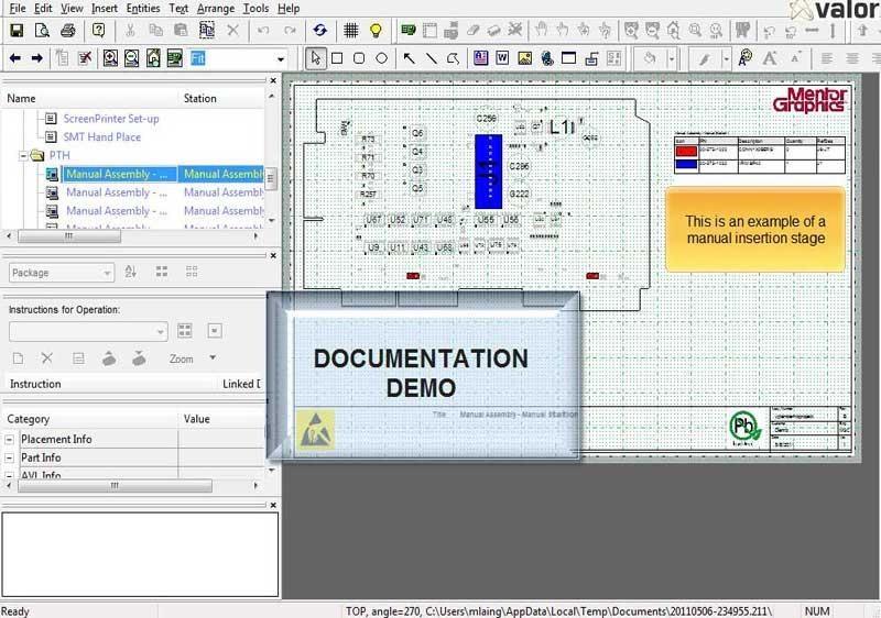Shop Floor Documentation Demo