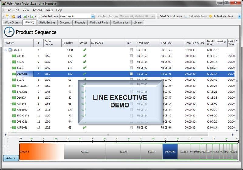 Line Executive Demo
