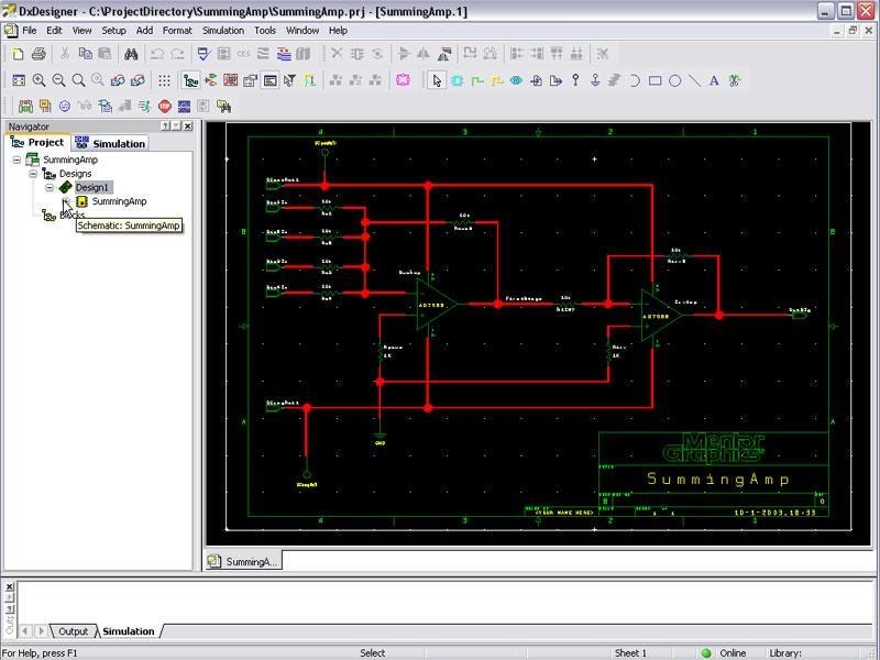 HyperLynx Analog Simulation Demo