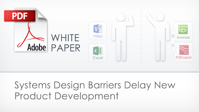 Systems Design Barriers Delay New Product Development