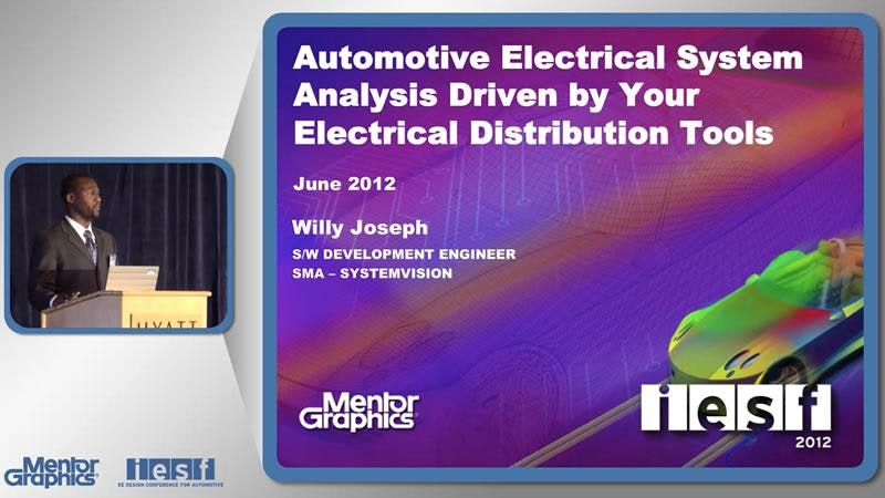Automotive Electrical System Analysis Driven by EDS Tools