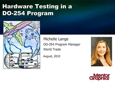 Hardware Testing in a DO-254 Program