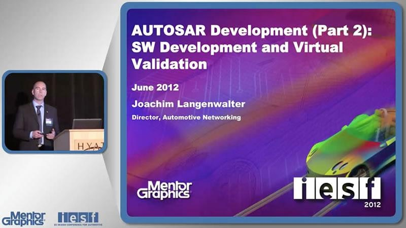 AUTOSAR Development (Part 2): SW Development and Virtual Validation