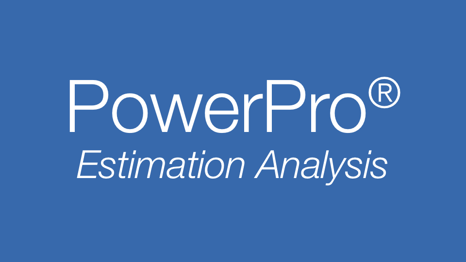 PowerPro Power Estimation