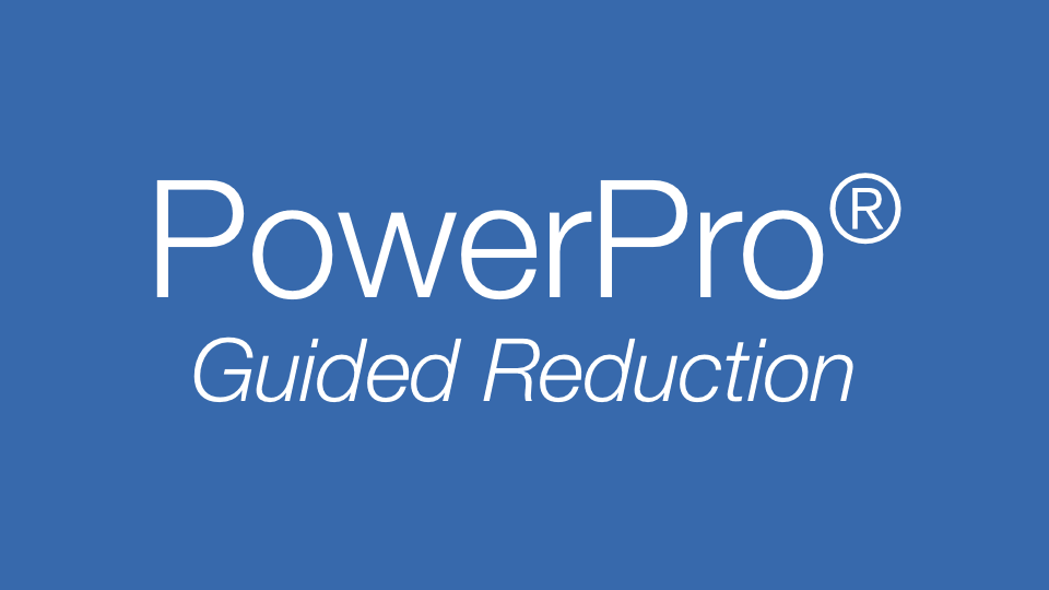 PowerPro Guided Power Reduction