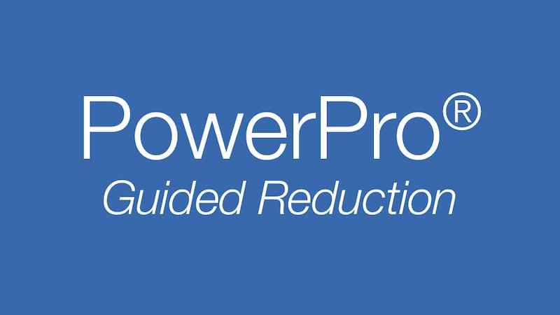 PowerPro Guided Power Reduction