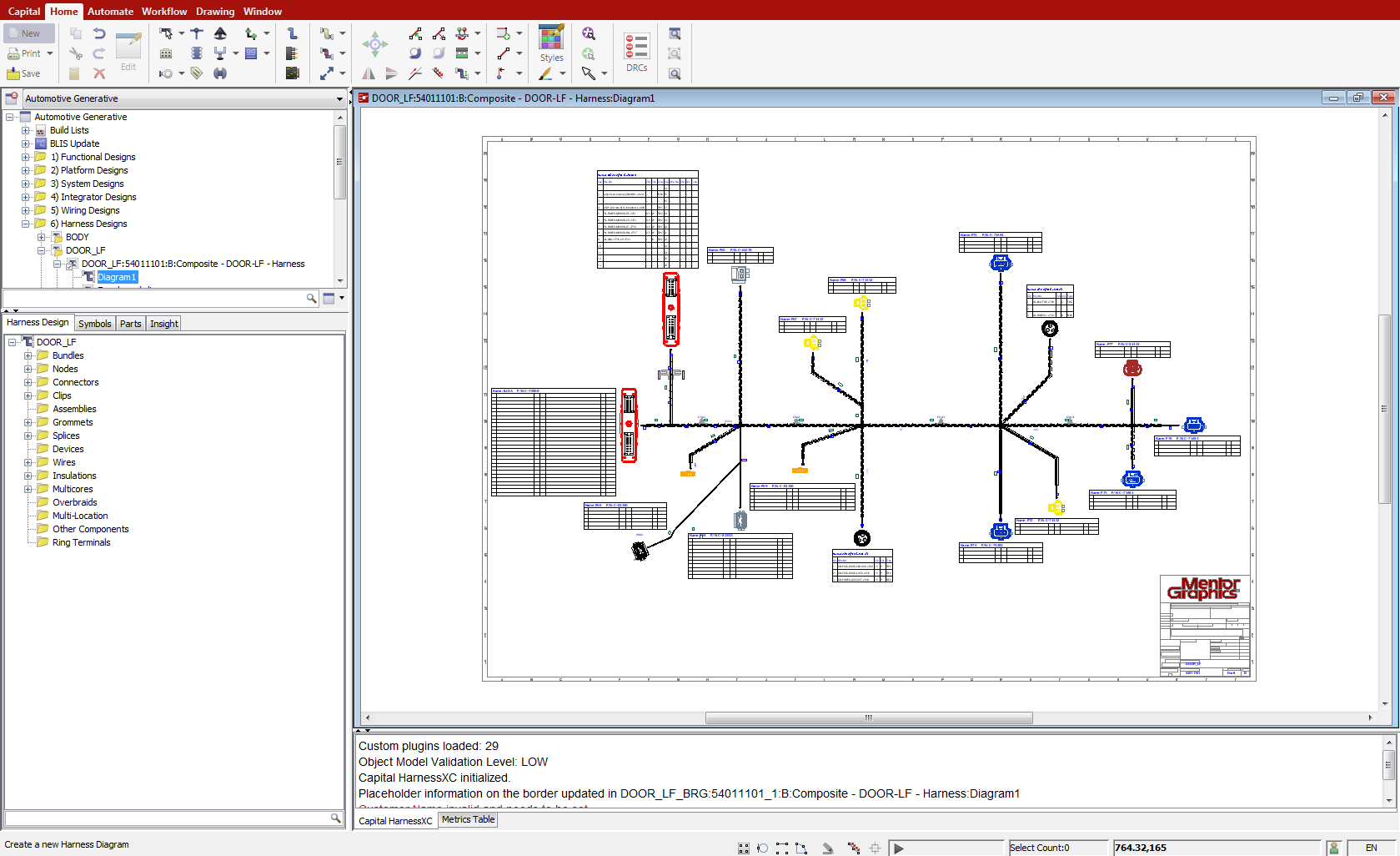 capital harnessxc mentor graphics rh mentor com Trailer Wiring Harness wiring harness design courses