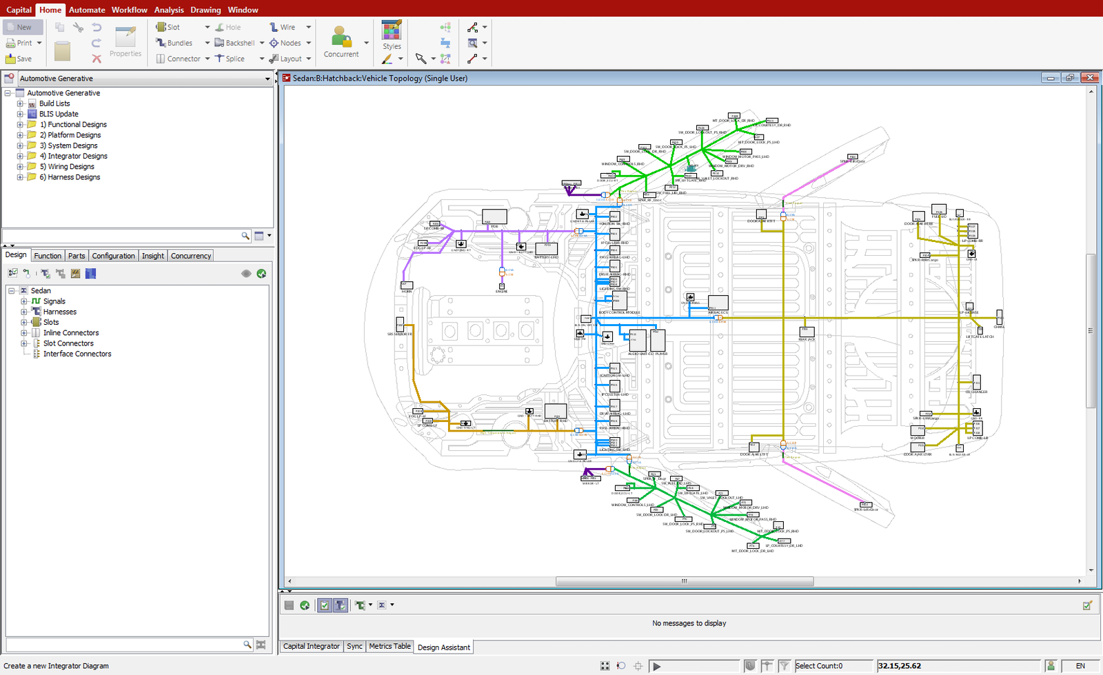 Capital IntegratorElectrical Design Automation Mentor Graphics - Electrical and wire harness design