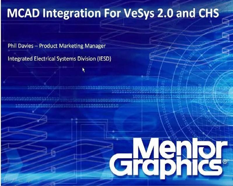 mcad integration for vesys  u0026 capital