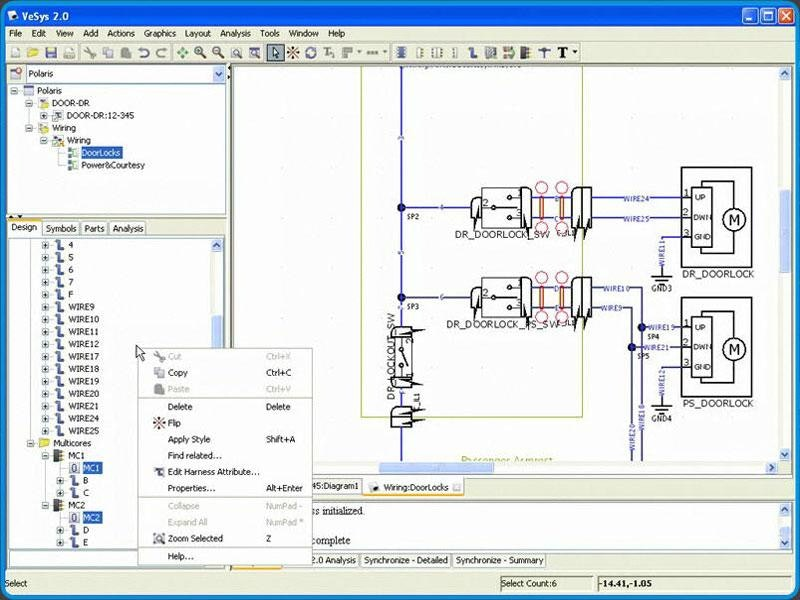 vesys demo 3 878a4dc6 2c6f 4053 a180 c6ef52454d09 detailing the wiring design technology overview product demo wiring harness design courses in pune at n-0.co