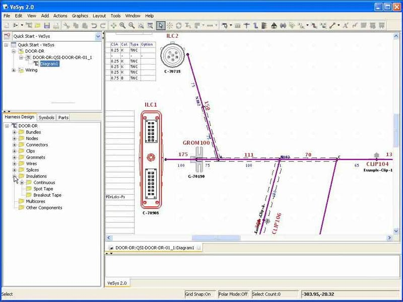 webinar harness design using vesys mentor graphics rh mentor com Boat Trailer Wiring Harness Boat Trailer Wiring Harness