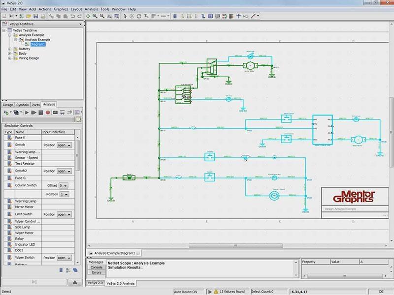 Fabulous Vesys Design Mentor Graphics Basic Electronics Wiring Diagram Wiring Database Pengheclesi4X4Andersnl