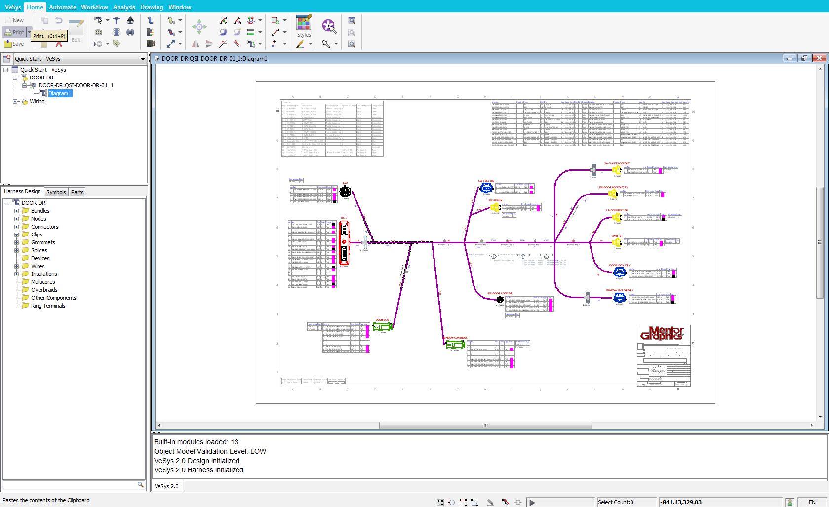 vesysharness E25D6D80?q=80&w=1600&fit=max vesys harness mentor graphics wire harness designer jobs at bayanpartner.co