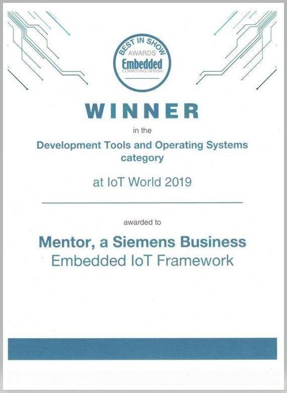 Mentor Embedded IoT Framework - Mentor Graphics