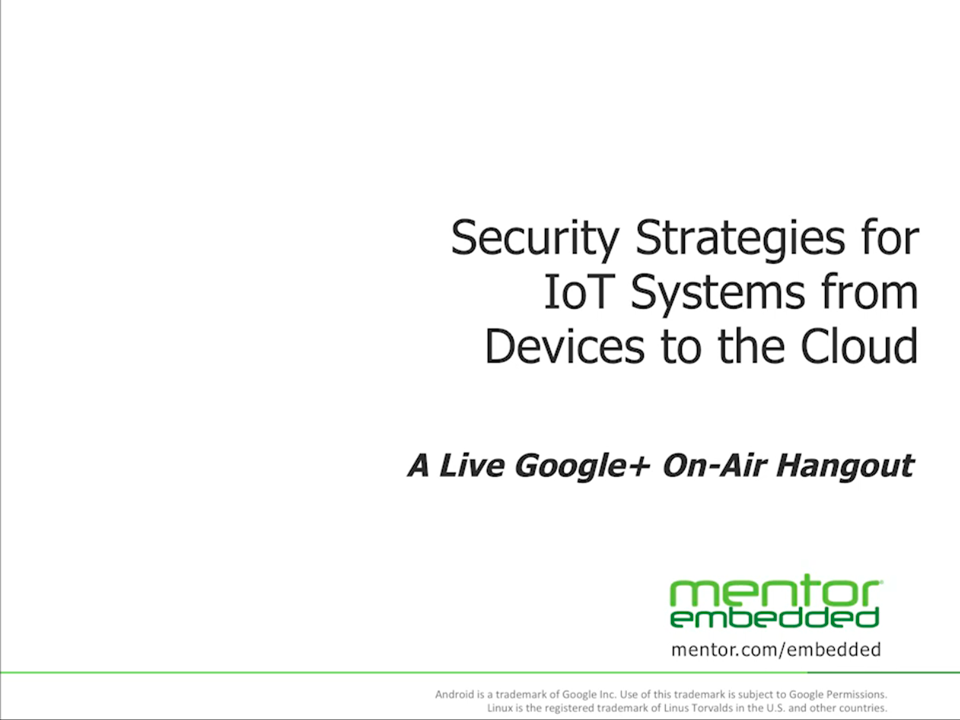 Security Strategies For Iot Systems From Devices To The Cloud