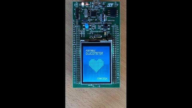Nucleusに統合されたTARA SystemsのEmbedded WizardでUI開発した携帯型血糖測定器