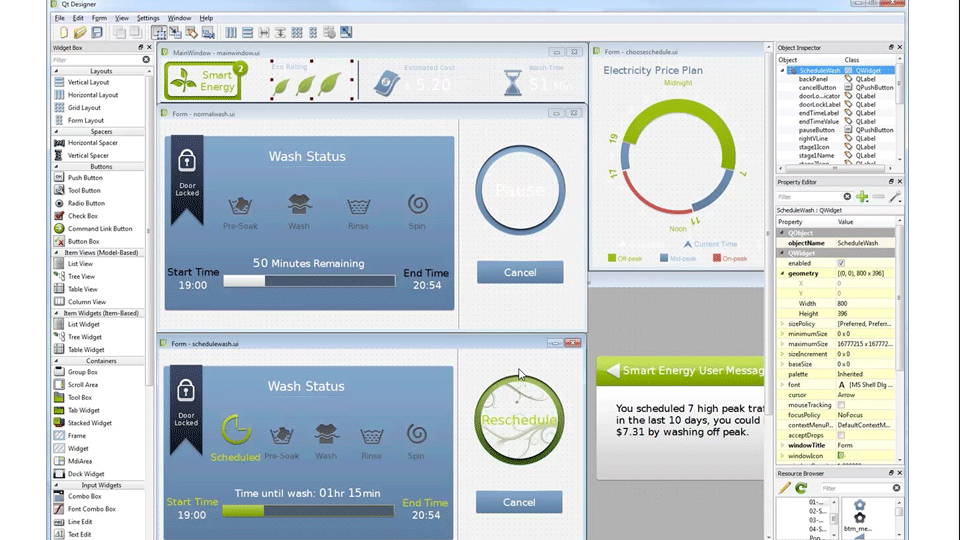 Create compelling user interfaces for your embedded devices