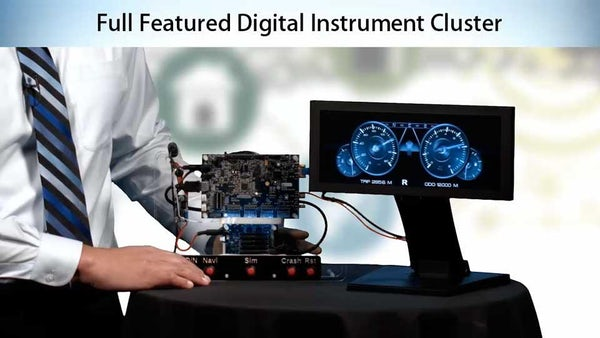 Safety Certifiable Digital Instrument Cluster - Mentor Graphics