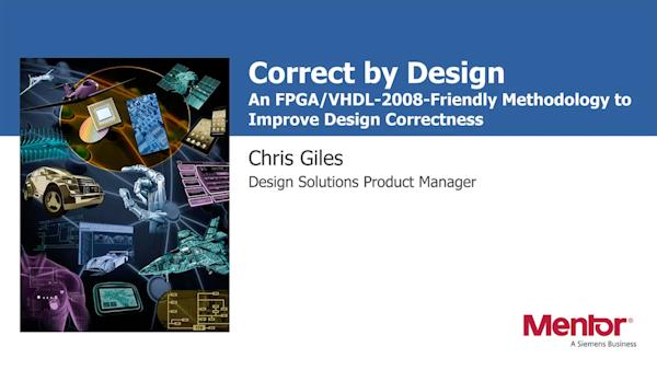 A Methodology To Improve Design Correctness Mentor Graphics