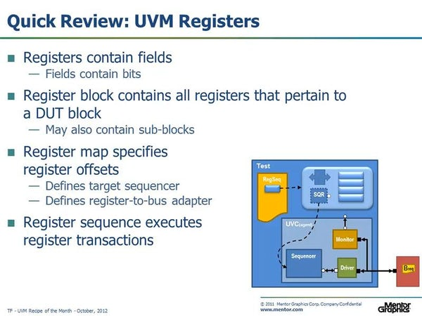 C Based Stimulus for UVM - Mentor Graphics