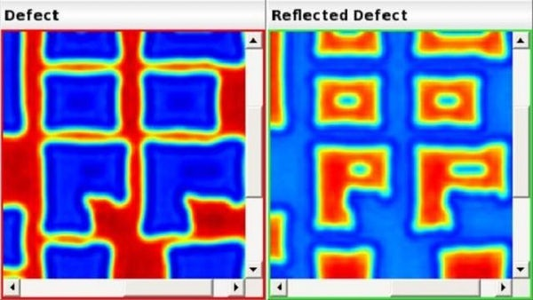 Automatic classification of patterned mask defects