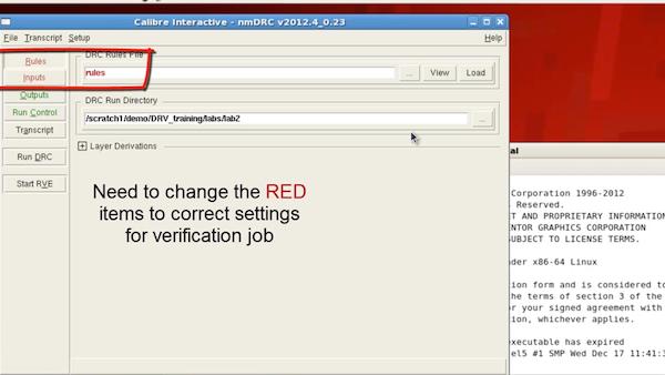 Simplifying run settings with Calibre Interactive runset files