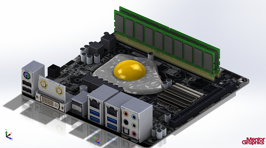 Frying An Egg On A Cpu Mentor Graphics