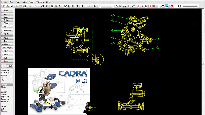 CADRA Design Drafting