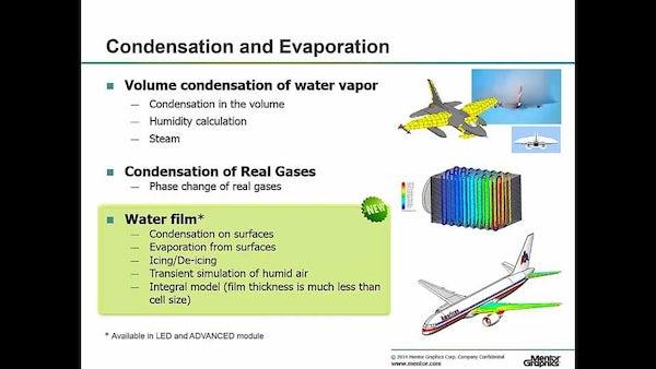 Condensation Modeling in CFD using FloEFD V14 Enhancements - Mentor
